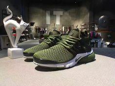 e00f2e119090 Army Green Black White Nike Air Presto Flyknit Ultra