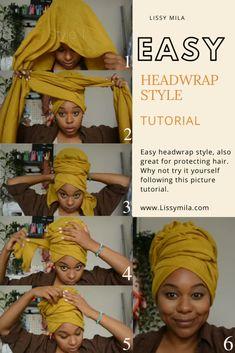 Hair Wrap Scarf, Hair Scarf Styles, Curly Hair Styles, Natural Hair Styles, Mode Turban, Hair Turban, Scarf Hairstyles, African Hairstyles, Headwraps For Natural Hair