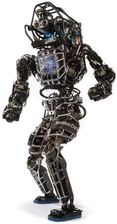 Boston Dynamic introduced the Atlas robot 02/24/2016 99