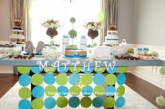 Owl Baby Shower Decor - Party Decor Ideas