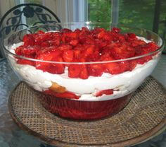 It's strawberry time. Here's a dessert that knocks their socks off but is super simple to make.