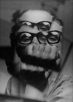 Zdzisław Beksiński -- self portrait