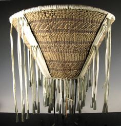 Native American, Apache Burden Basket, Ca 1970's,#779