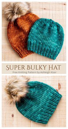 Baby Hat Knitting Pattern, Knitting Socks, Knitting Patterns Free, Knit Patterns, Free Knitting, Baby Knitting, Knitted Hats, Knitting Needles, Crochet Santa Hat