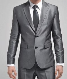 ...he wants a silver suit...and I approve...