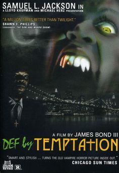 Def by Temptation DVD (1990) Starring Kadeem Hardison; Directed by James Bond III; Starring Samuel L. Jackson; Troma $0.99 on OLDIES.com