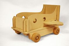 Modular Vehicle: Truck, Submarine, Airplane. Imaginative toy for boys and girls open ended play. $65.00, via Etsy.