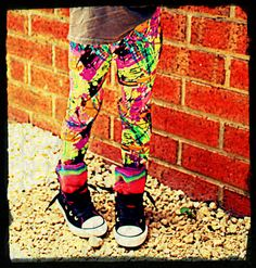 Girls Leggings Pins Size New Born - 1  Rad on Etsy, $24.00 AUD