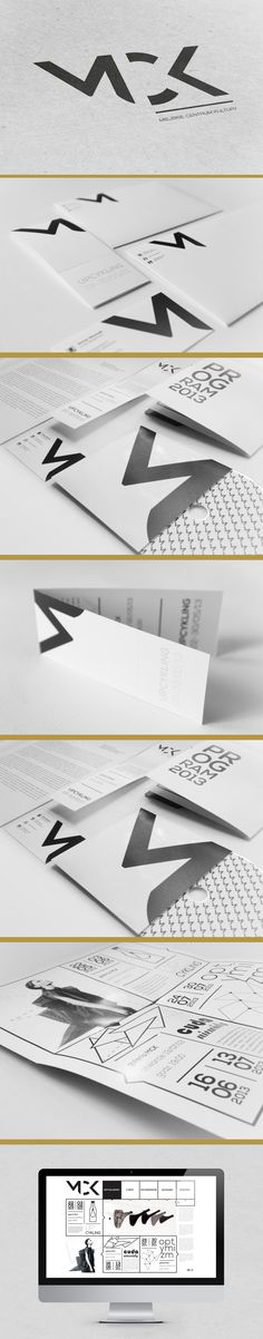 Karolina Pamuła – Brand identity for MCK (Miejskie Centrum Kultury)
