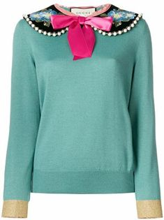 Gucci Peter Pan Collared Sweater