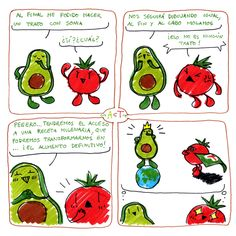 ~ AcT ~ 5 #aguacatecontomate #aguacate #tomate #comic #humor