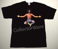 SLY STONE drawing 4 CUSTOM ART UNIQUE T-SHIRT Each T-shirt is individually hand-painted, a true and unique work of art indeed!  To order this, or design your own custom T-shirt, please contact us at info@collectorware.com, or visit http://www.collectorware.com/tees-slystone_andrelated.htm