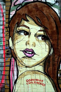 """Street-wall graphic art - L'arte grafica sui muri. Dateci il Vostro parere con un """"Mi Piace"""" e continuate a seguirci. Per informazioni: info@diellegrafica.it - #grafica #urban #graffiti"""