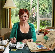 Frances Pickering: Franny P makes beautiful books