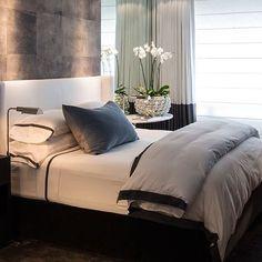 Home Decor Helpful Tips For Contemporary Interior Design living room Modern Bedroom Design, Contemporary Bedroom, Modern House Design, Modern Interior Design, Interior Ideas, Bedroom Designs, Modern Contemporary, Interior Decorating, Modern Beds