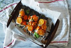Baked Mahi Mahi with Clementines Recipe