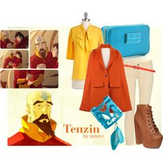 Tenzin, created by mint-t on Polyvore
