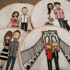 These beasts are shipping Friday  #embroidery #familyportrait #family #handmade #hoop #embroideryhoop #hoopart #makersvillage @makersvillage #craftsposure @craftsposure #creativelifehappylife @creativelife_happylife @talentedpeopleinc #talentedpeopleinc #makersgonnashare @makersgonnashare #art #smallbusiness #giftideas #makersgonnamake #oregonmade #makersbiz by hoopthere.itis