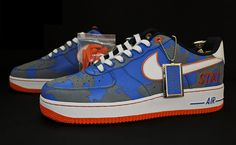 "Amar'e Stoudemire x Bespoke Nike Air Force 1 ""Always on Live"""