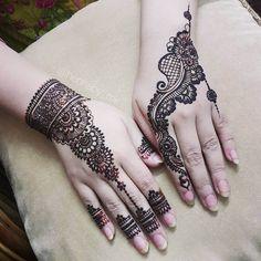mehndi design for hands artist hennaby_mk