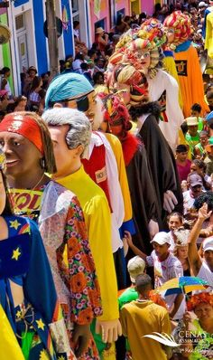 Bonecos gigantes do carnaval de Olinda - Pernambuco