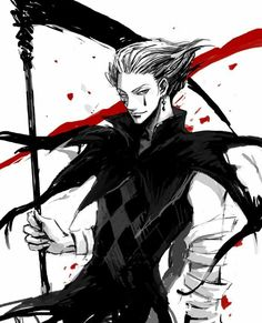 Hisoka from HunterxHunter (HxH) as Grim Reaper