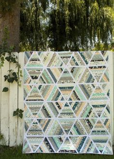 Fat Quarterly Issue 14: Summer fabric: Indian Summer by Sarah Watson