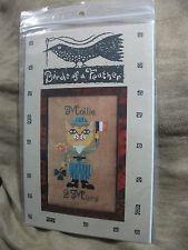 "Birds of a Feather "" Mars Birthday Cat  ( March ) "" Pattern in Crafts, Needlecrafts & Yarn, Embroidery & Cross Stitch, Hand Embr Patterns & Magazines, Cross Stitch Patterns | eBay"