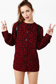 Givenchy Leopard Shirtdress
