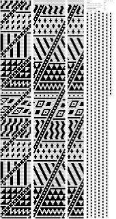 Lbeads: схема для вязанного жгута с бисером