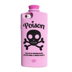 Poison 3D iPhone 6/6s Case (LAVENDER) ($50) ❤ liked on Polyvore featuring accessories and tech accessories