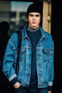 Fashion Week homme Street looks Milan automne hiver 2016 2017 50