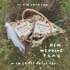 newFLAG❤️☺️✨ . #ウェディングフラッグ#フラッグ#diy#ウェディングアイテム#ウェディンググッズ#ボタニカル#ドライフラワー#プレ花嫁#プレ花嫁卒業#bride#groom#結婚式#結婚式準備#前撮りアイテム#前撮り#お譲り#wedding