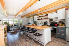 Saskatoon Garage and Garden Suite Builder. Kitchen Interior, Modern Condo, Carriage House Apartments, Garage Guest House, Tiny House Floor Plans, House Interior, Luxury House Designs, Structural Insulated Panels, Tiny House Plans