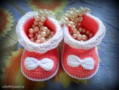 booties with bows