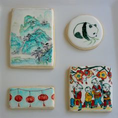 Asian Culture Inspired Cookies