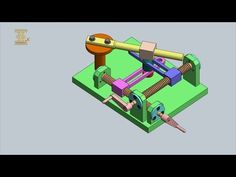 Screw-Type Slotted-Link Tangent Generator - YouTube