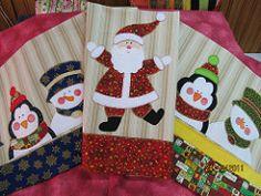 panos de prato (val bordados e patch) Tags: natal patchwork aplicacao panodeprato