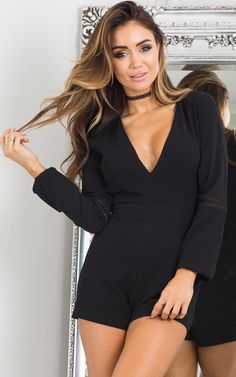 f11f327294d2 Showpo XO playsuit in black - 8 (S) Rompers   Jumpsuits