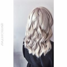 Icy Blonde by #redken #ashlenncreehair