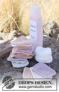 knitted makeup remover pads