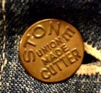 Stonecutter Vintage Workwear Button