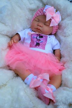 BUTTERFLY BABIES REBORN BABY GIR 5LBS BEAUTIFUL LIFELIKE DOLL MINNIE TUTU MOLLY in Dolls & Bears, Dolls, Clothing & Accessories, Artist & Handmade Dolls | eBay