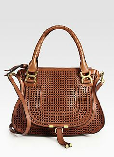 Chloé, Perforated Satchel - stunning.