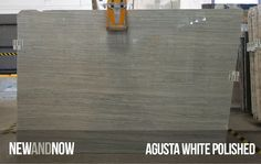 Agusta White Polished