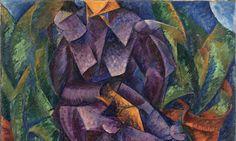 Umberto Boccioni, Costruzione spiralica, 1913