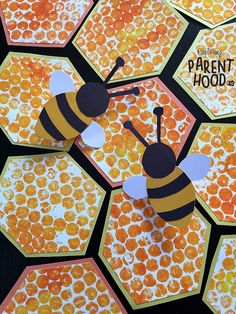 Bubble Wrap Beehive & Paper Bee Rings • Capturing Parenthood