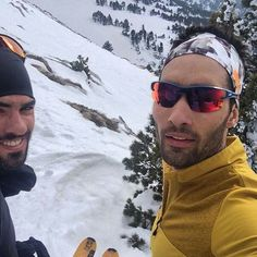 Simon and Martin Fourcade (FRA)
