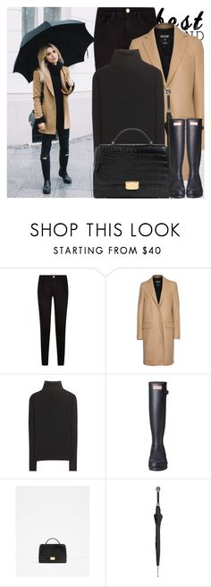 """2445. Blogger Style: Make Life Easier"" by chocolatepumma on Polyvore featuring Oris, Frame, MSGM, Acne Studios, Hunter, Zara and Pasotti Ombrelli"