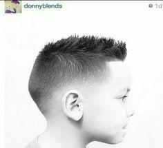 Love his haircut